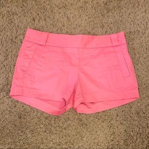J. Crew size 4 pink shorts